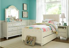 Shop for a Emma's Escape 4 Pc Twin Panel Bedroom at Rooms To Go Kids. Find  that will look great in your home and complement the rest of your furniture.