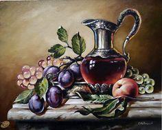Кувшин и фрукты - Натюрморт - Галерея - Картины для интерьера