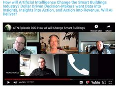 Episode ControlTalk NOW — Smart Buildings VideoCast and PodCast for Week Ending Mar 2019 - ControlTrends Great Videos, Insight, March, Mars