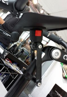 Interesting mounting solution with Rixen Kaul rotating mini map holder from Additive Bikes