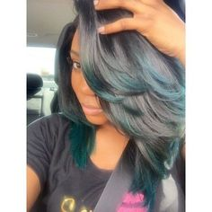 Ombre Hair Color for Black Women Love Hair, Gorgeous Hair, Hair Dos, Remy Hair, Weave Hairstyles, Pretty Hairstyles, Updo Hairstyle, Black Hairstyles, Prom Hairstyles