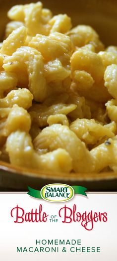 Please vote for my (The Get Fit Diva!) Homemade Macaroni and Cheese in the Smart Balance #BattleofTheBloggers!