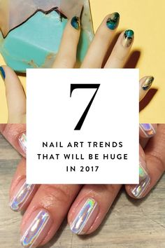 27d80c102d 7 Nail Art Trends That Will Be Huge in 2017 via  PureWow Chic Nail Art