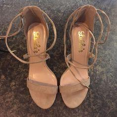 Lulu heels Never worn, selling both pairs together Lulu's Shoes Heels