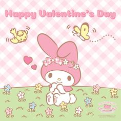 Happy Valentine's Day everyone! May your day be as sweet as My Melody! Little Twin Stars, Little Girls, My Melody Wallpaper, Sanrio Characters, Mardi Gras, Happy Valentines Day, Eat Cake, Hello Kitty, Cute