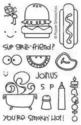 Alfresco stamp set by Paper Smooches