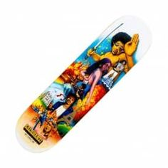 "Primitive Skateboarding Bastien Salabanzi Exploit Skateboard Deck 8.25"""