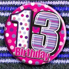 Thirteenth Birthday Supplies 13th Birthday Balloons Dream