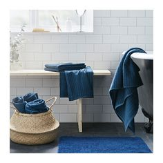 TOFTBO Bath mat IKEA Made of microfiber; ultra soft, absorbent and dries quickly.