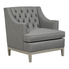 Lounge Chairs - CARMEL Lounge Chair - Duralee Furniture