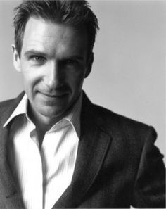 Ralph Fiennes, actor (Love this photo of him.)