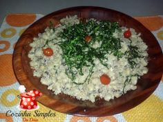 Farofa Delícia de feijão fradinho - Cozinha Simples da Deia