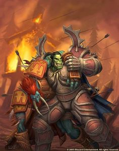 #warcraft #orc #troll #warrior #guerrier