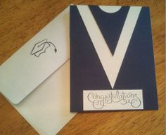 Graduation Card - make it in all the high school colors