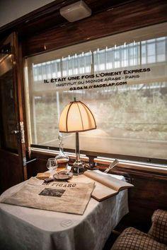 Exposition :: l'Orient Express, il était une fois By Train, Train Car, Train Rides, Train Travel, Orient Express Train, Le Train Bleu, Istanbul, Trains, Steam Locomotive