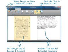 Free OCR to Word, convierte documentos escaneados e imágenes con texto a Word o texto plano