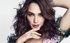 Download wallpapers Gal Gadot, Marie Claire US, Hollywood, 2017, portrait, israeli actress, beauty