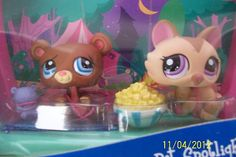 Littlest Pet Shop SHIMMER 'N SHINE Sparkle Elephant #2154 * New in Package