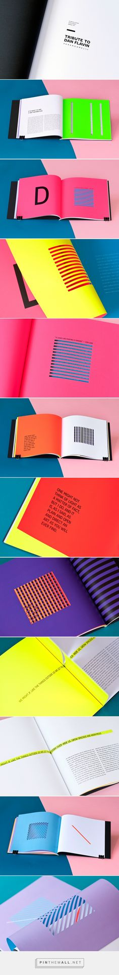 Tribute to Dan Flavin | paranormally on Behance - created via https://pinthemall.net