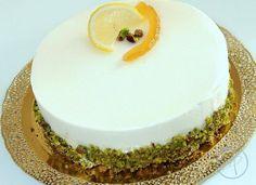 mousse al limone, ricette Gino Fabbri da Dolcemente con di M. Santin