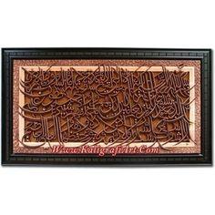Kaligrafi Ayat Kursi Jumbo Wa: 082.325.198.488  Bbm: 76AC421F
