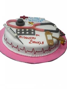 Birthday Cake Delivery In Mumbai For A Hard Working Doctor Even Doctors Are Entitled To