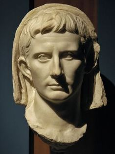 Augustus, head of Roman sculpture (marble), c. 1st century AD, (Museo Archeologico Nazionale, Ancona).