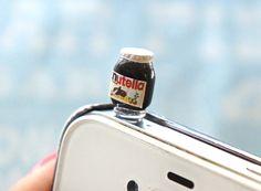nutella earphone plug