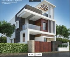 House elevation, front elevation designs, facade house, ultra modern homes, Modern Bungalow Exterior, Modern Exterior House Designs, Modern House Plans, Modern House Design, Exterior Design, 3 Storey House Design, Duplex House Design, House Front Design, Bungalow Haus Design
