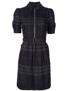 BURBERRY BRIT  CHECKED DRESS
