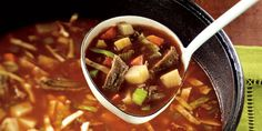 Winter Beef Vegetable Soup