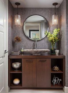 Espejo,mueble y lavamanos