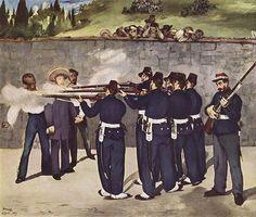 Édouard Manet, The Execution of Emperor Maximilian (1867-68)