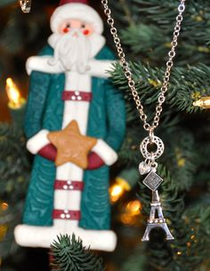 Charms of Paris necklace; available in time to have it under your tree!