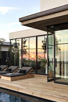 Design Your Own Home, Home Design, Design Ideas, Creative Deck Ideas, Eric Olsen, Modern Deck, Harbor View, House Deck, Backyard Patio Designs