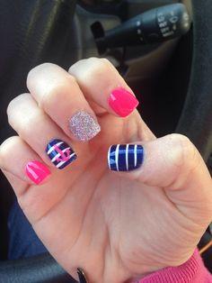 Cruise Nails On Pinterest Glitter Solar Nails Anchor Nail Designs And Vacation Nails