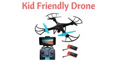 With so many drones available, how do you know which is the most kid friendly drone? You could spend hours on the internet, or you could check our review.