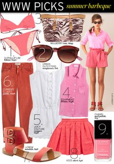 Summer BBQ in Pink