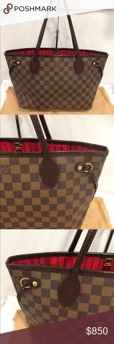 Authentic Louis Vuitton neverfull PM Damier Authentic.no trades.free authentication from posh Louis Vuitton Bags Shoulder Bags