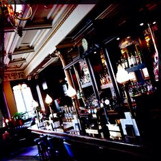 Cafe Royale Edinburgh - favourite pub bar none