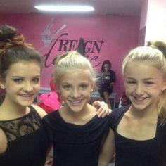 Dance Moms Brooke, Paige and Chloe