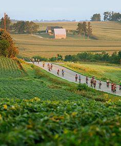 RAGBRAI bike ride across Iowa