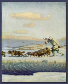Scribner's Magazine, 1916 by N.C. Wyeth by Plum leaves (in), via Flickr