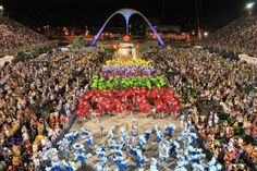 Rio carnival i want to go here when this is one it's meant to be spectacular!