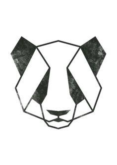 Geometric Animal Panda Art Panda Print Panda by MgdDesign  #animal #art #geometr... - #Animal #Art #Geometr #Geometric #MgdDesign #Panda #Print