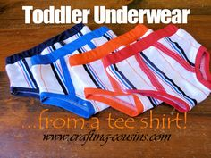 """Draft your own toddler underwear pattern using the bottom part of a onesie. The only things I would do differently is to only trace of the bottom onesie portion, that way my """"pattern"""" will be equal on both sides. Toddler Underwear, Boys Underwear, Sewing For Kids, Baby Sewing, Sew Baby, Baby Boy, Toddler Outfits, Kids Outfits, Toddler Training Pants"""