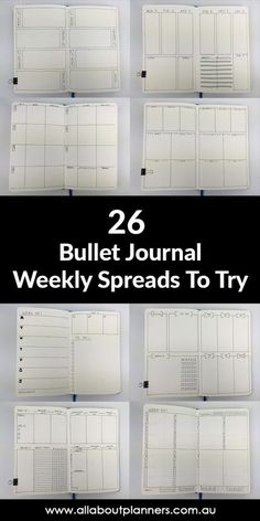 Bullet Journal Ideas: 26 Weekly Spread Layouts to Try – All About Planners Tamara Fichtner Tamara Fichtner bullet journal weekly … Bullet Journal Books To Read, Bullet Journal Bucket List, Bullet Journal Calendar, Bullet Journal Wishlist, Bullet Journal Budget, Bullet Journal Banners, Bullet Journal Simple, Bullet Journal Doodles, Digital Bullet Journal