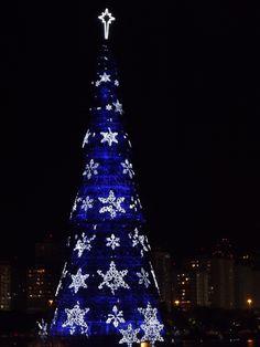 Christmas tree, Rio de Janeiro, Brazil