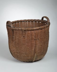 Shaker splint storage basket from Canterbury, New Hampshire