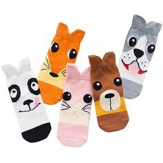 Children Socks New Soft Cotton Boys Girls Cartoon Stripe Pattern Styles For Kids